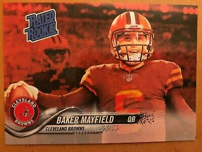 Baker Mayfield - ACEO Rated Rookie Red - Cleveland Browns