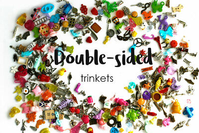 Double-sided I Spy trinkets by TomToy for I spy bag/bottle, 1-3cm, Set of 20-200