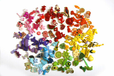 Rainbow I Spy trinkets by TomToy for colorful I spy bags bottles, 1-3cm