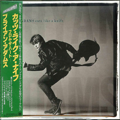 BRYAN ADAMS-CUTS LIKE A KNIFE +2-JAPAN MINI LP SHM-CD BONUS TRACK Ltd/Ed G00