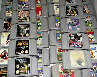 N64 Games Nintendo 64 PAL Dropdown Selection (B Grade Carts)