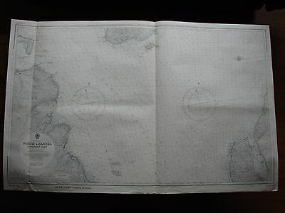 1960 Admiralty Nautical Chart North Channel Northern Part