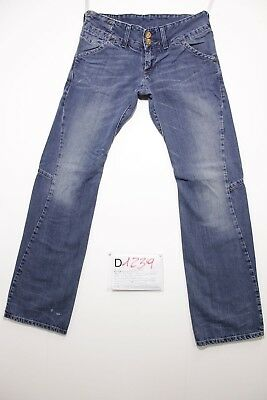 Levis engineered 1300 (Cod. D1239) Tg.44  W30 L34 bootcut  jeans usato.