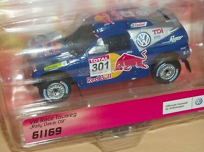 "Carrera Go 61169 VW Race Touareg ""Rally Dakar 09"" Nr.301 in OVP"