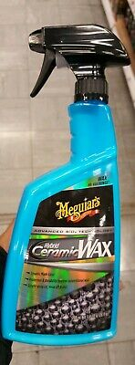New Meguiars Hybrid Ceramic Spray Wax Protection Easy to Use Durable G190526