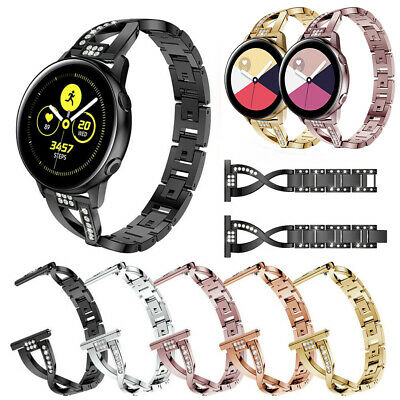 Adjustable Replacement Watch Band Metal Strap For Samsung Galaxy Watch Active 40