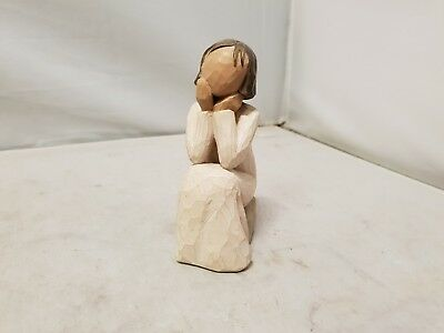 """Willow Tree Figurine - """" Angel of Caring """" - NO WINGS"""