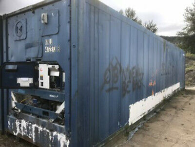 40ft insulated ex refrigerated storage unit container used