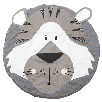 Baby Rugs Creeping Crawling Mat Cartoon Sleeping Rugs, Children Anti-Slip G O5B6