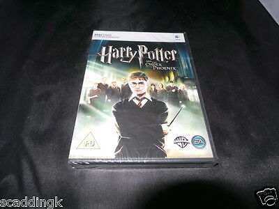 Mac Game Harry Potter and the Order of the Phoenix Brand New Factory Sealed