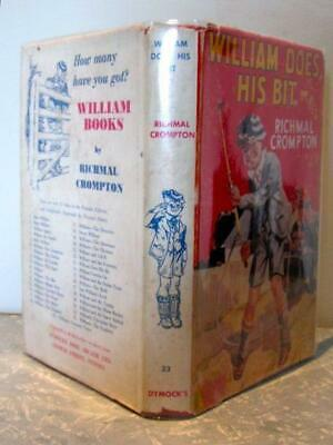William Does His Bit  Richmal Crompton   Illustrated by Thomas Henry  1963, S...