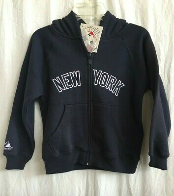 New York Yankees Infant / Toddler / Child Hooded Sweatshirt by Majestic - MAJ030