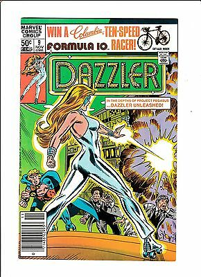 Dazzler No.9  : 1981 :   : Mark Jeweler Variant! :