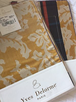 Yves Delorme Glamour Figue Satin N Pair Of Euro Pillowcases