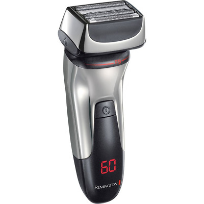 Remington F9 XF9000 Ultimate Series Silver Cordless Shaver With LED RRP £130.00