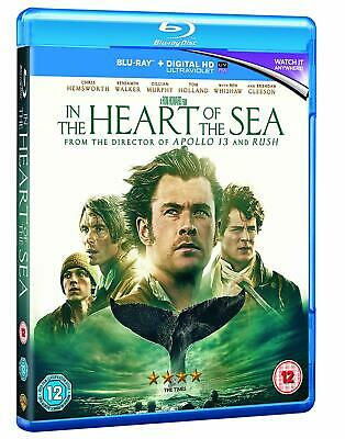 In the Heart of the Sea (3D + 2D Blu-ray, 2 Discs, Region Free) *NEW/SEALED*