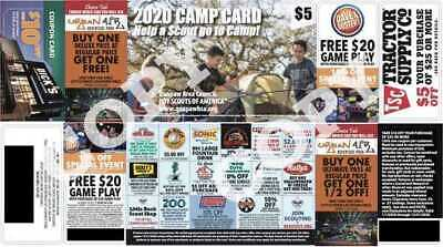 2019 Scouts Discount Camp Card Wild River Country Kroger Tractor Supply TSC