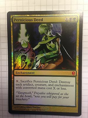 Mtg Magic the Gathering Conspiracy 2014 Edition Pernicious Deed FOIL