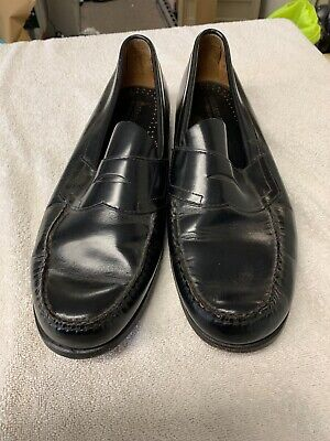 a13f49e5adc Men s GH Bass   Co Weejuns Penny Loafers Dress Shoes Size 13 D Black Leather