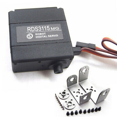 Dual Ball Bearing Quiet RDS3115MG Digital Torque Servo Metal Gear for RC Robot