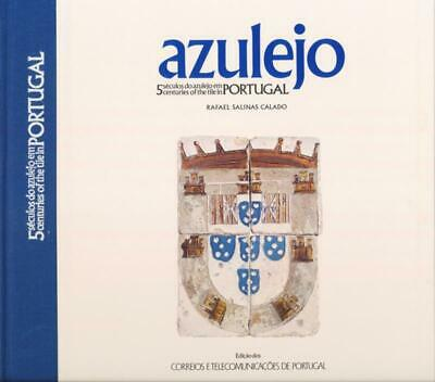 Portugal Azulejo 1986 5 Centuries Of The Tile Stamp Book