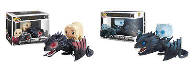 Funko Pop Rides! Game Of Thrones: Night King & Icy Viserion Daenerys & Drogon