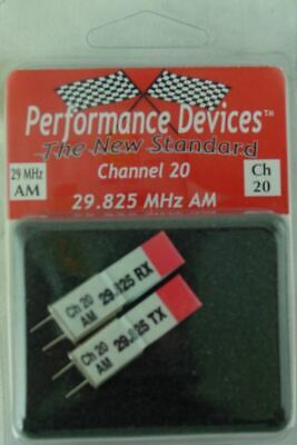 29.905Mhz - Performance Devices PDV9000028 29Mhz AM Crystal Set Channel 28