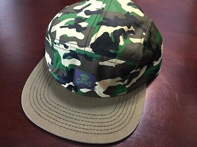 048bf0eb7aa95 Johnny Cupcakes 5-Panel Hat  Brand New Never Worn  Green Camouflage  Crossbones