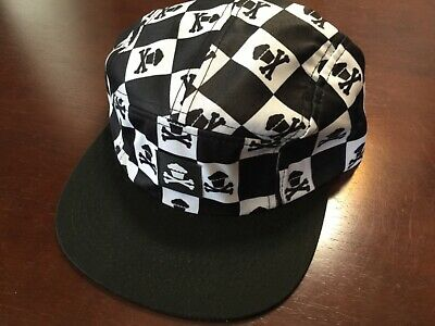 880d06ae18063 Johnny Cupcakes 5-Panel Hat  Brand New Never Worn Checkered Crossbones  Strap Cap