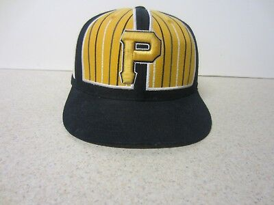 5fa4401f0c0 MLB American Needle Pittsburgh Pirates Black Yellow 7 1 2 Hat Cap  COOPERSTOWN