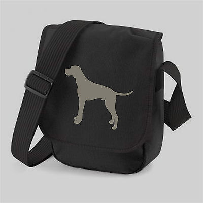 Pointer Dog Bag Silhouette Shoulder Bags Handbags Birthday Gift