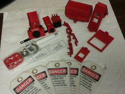 Ideal 44-970 Basic Lockout/Tagout Kit (Brand New)