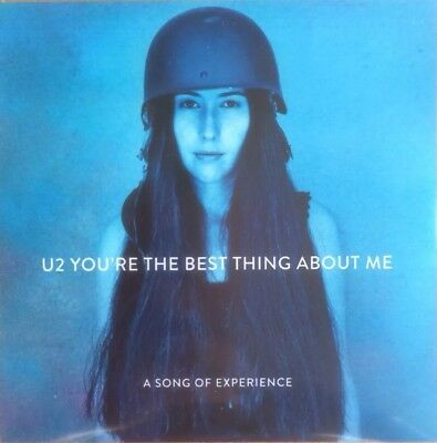 """U2 """"You're The Best Thing About Me"""" Rare 1 Track Org Version Brand New Cd Promo"""