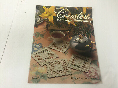 Coasters Hardanger Embroidery by Linda Driskell Book 9