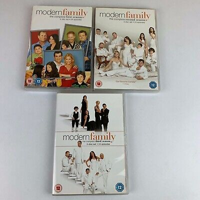 Job-lot/Bundle Modern Family: The Complete 1st ,2nd ,3rd Season DVD