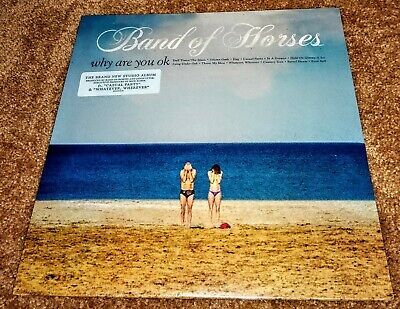 Band of Horses Why Are You OK LP VINYL NEW