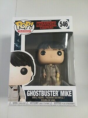 Funko Pop! Television Netflix Stranger Things Ghostbuster Mike #546