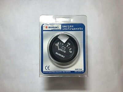 "SUZUKI OUTBOARD PARTS 2"" VOLTMETER - Black 99105-80006 - $45 91"