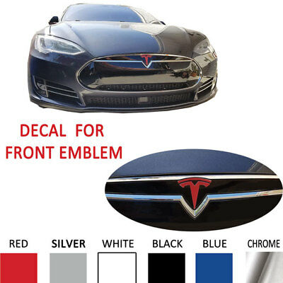Tesla Model S Wheel Cap Nosecone T Tailgate Full Set High Cast Decals Stickers