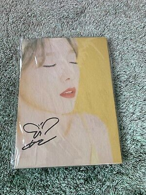 Taeyeon (SNSD) My Voice Fine Edition with Autographed (Signed)