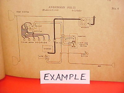 wiring diagram for 1919 to 1925 model t ford $5 00 picclick 1989 Buick Rivera