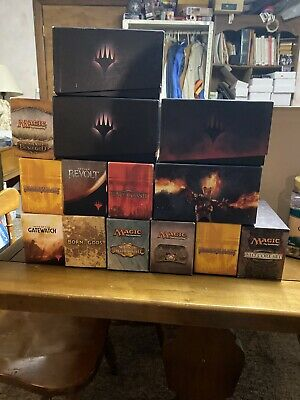 Magic the Gathering MTG FTG PLAYED DARK ASCENSION 1 Empty Fat Pack Box
