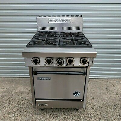 GOLDSTEIN PF-4-20 4 Burner Gas Oven