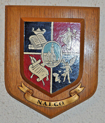 Trade Union NALGO wall plaque shield crest coat of arms