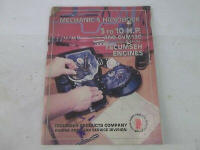 Tecumseh 3 to 10 HP engines service manual