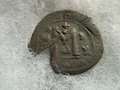 Byzantine Empire Ancient Coin Heraclius 610 - 641 Follis Large M Constantine
