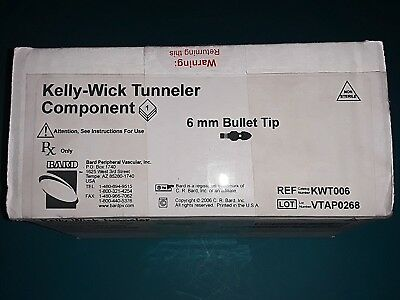 Kelly-Wick Tunneler Component 6mm Bullet Tip KWT006 – New in Box