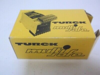 TURCK MS21-12Ex0-R MULTISAFE ROTATIONAL SPEED MONITOR 110/120VAC * NEW IN BOX *