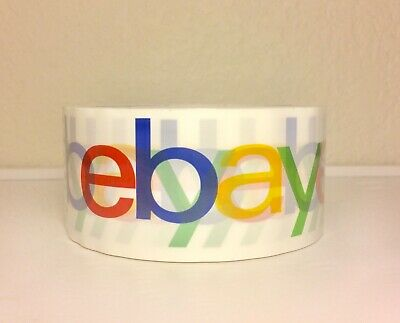 eBay Branded Packing Packaging Shipping Tape BOPP 1 ROLL 75 Yards 2Mil Classic