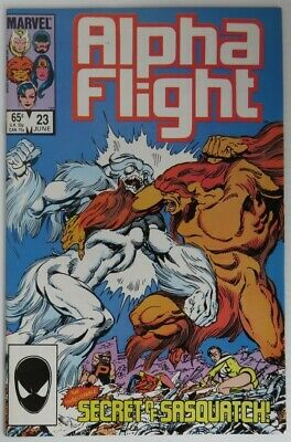1985 Alpha Flight #23 -  Vf                   (Inv22715)